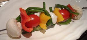 brochette de légumes SYLVIE