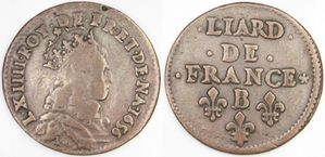 Liard Louis XIV 1656 B rose-copie-1