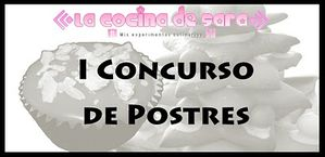 I Concurso de Postres sara