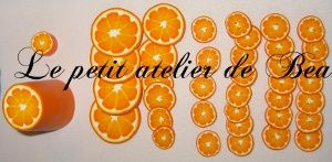 boutons tranches d'orange