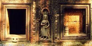 temple ta phrom cambodge fausse et vraie fenêtre