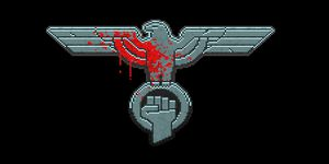 Fists of resistance logo Oxeye games