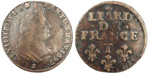 Liard Louis XIV 1697 T-copie-1