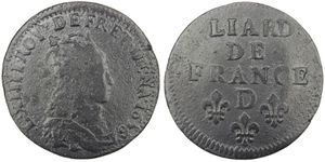 Liard Louis XIV 1656 D coeur-copie-1