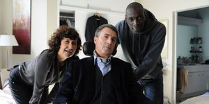 Anne Le Ny - Francois Cluzet -Omar Sy -Intouchables