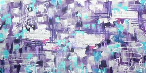 Music Blue Violet
