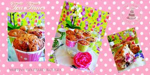 Muffins ultra moelleux aux fruits rouges