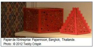 Papermoon, Bangkok, Thailande - Paperworld 2012 Messe Frankfurt.  Photo : ©2012 Teddy Crispin