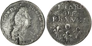 Liard Louis XIV 1699 O-copie-1