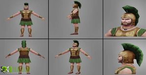 3D Character modeling animation