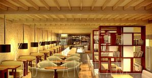 Restaurant Interiror rendering design