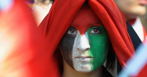 501591 france-mideast-gaza-conflict-aid-demo