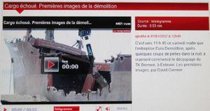 021r 1ère images démolition 0mn53