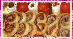 Palmier Jambon de pays Roquefort