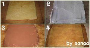 Gâteau suprême à la crème mousseline praliné1