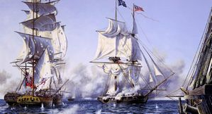 War of 1812 Battle of Lake Erie Rindlisbacher