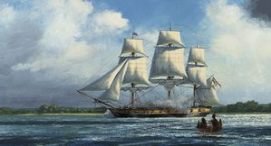 War of 1812 HMS Queen Charlotte