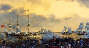 War of 1812 Royal George Battle Kingston