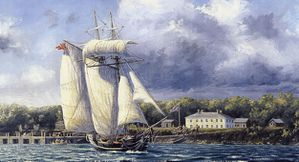 War of 1812 Schooner Nancy