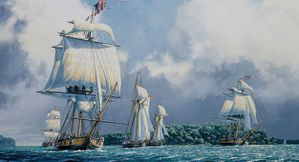 War of 1812 US Navy