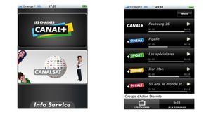 canal+ sur iPhone