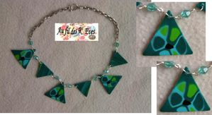 Turquoise graph collier 1