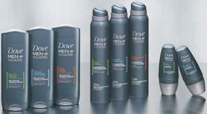 gamme Dove hommes