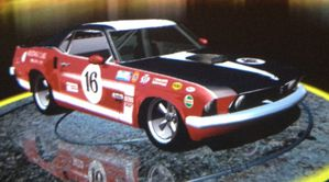 Ford Mustang shelby simuzone