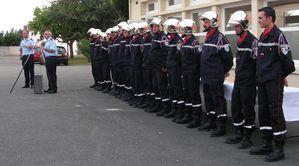 Lieutenant Garnier + Pompiers