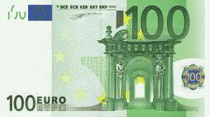 100 euro-recto