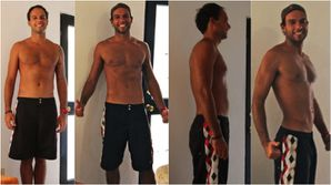 Marcelo's before and after - December 24th, 2011