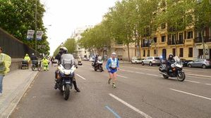 Michel à Madrid