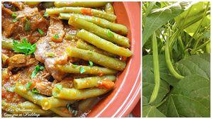 tajine viande haricot vert tomates