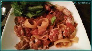 pasta calamari a la siciliana assiette