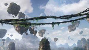 Avatar rochers suspendus lianes