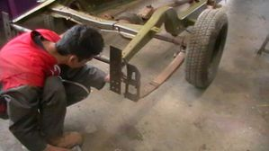 hot rod, pattes de fixation chassis viva 4