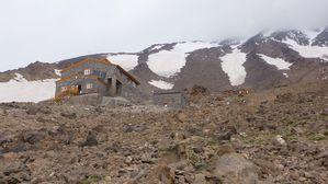 Le refuge à 4200m