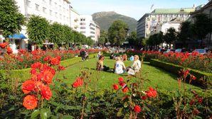 0868b-Bergen-Lille Lungegardsvann