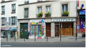 Paris rue menilmontant observation