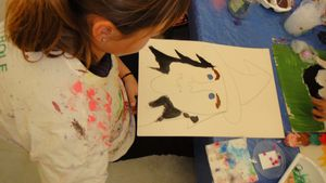 Atelier-Halloween-Peinture-Sedan-Flo Megardon 3