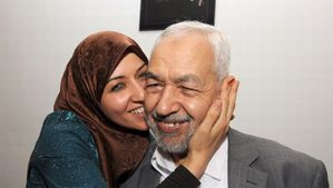 Rached-Ghannouchi-With-Daughter