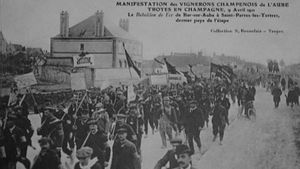 Troyes 9 avril 1911
