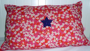 coussin mitsi rose