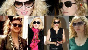 Madonna-zonnebrillen