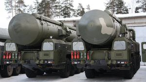 Yars (RS-24) intercontinental ballistic missile systems