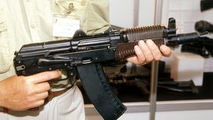 Kalashnikov assault rifle source Ria novisti
