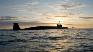 Borey class nuclear-powered ballistic missile submarine Yur