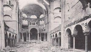 Germania sinagoga distrutta