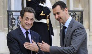 Bachar-al-Assad-et-Nicolas-Sarkozy