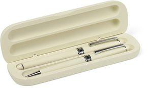 parure bois blanc stylo publicitaire